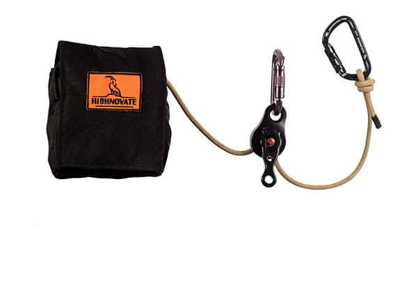 highnovate, belay device, rope access equipmen